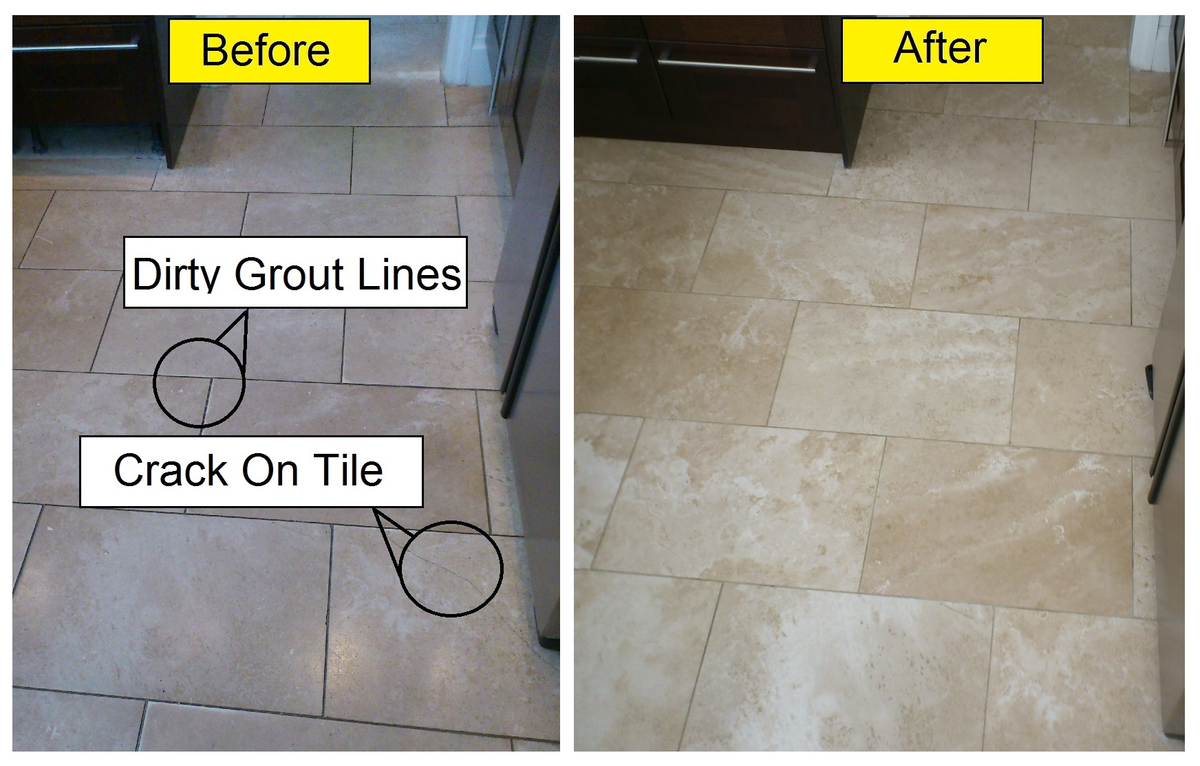How to clean a stone tile floor
